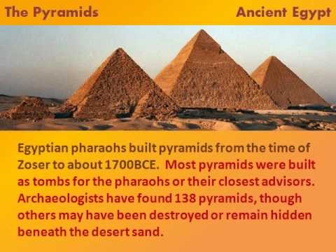 importance of mathematics in process of building the pyramids in ancient egypt Ancient egyptian mathematics is the mathematics that was developed and used in ancient egypt c 3000 to c 300 such a formula would be needed for building pyramids.