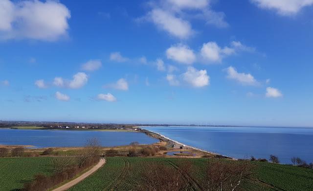 Ein Inselausflug nach Kegnæs. Die Aussicht vom Leuchtturm über die Insel ist großartig!