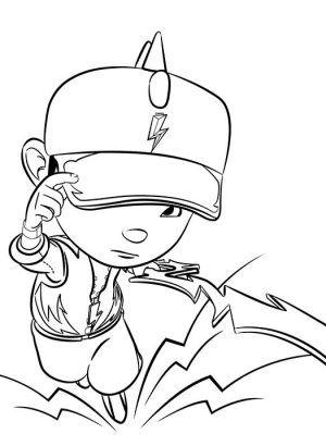 Tranh cho bé tô màu BoBoiBoy 3