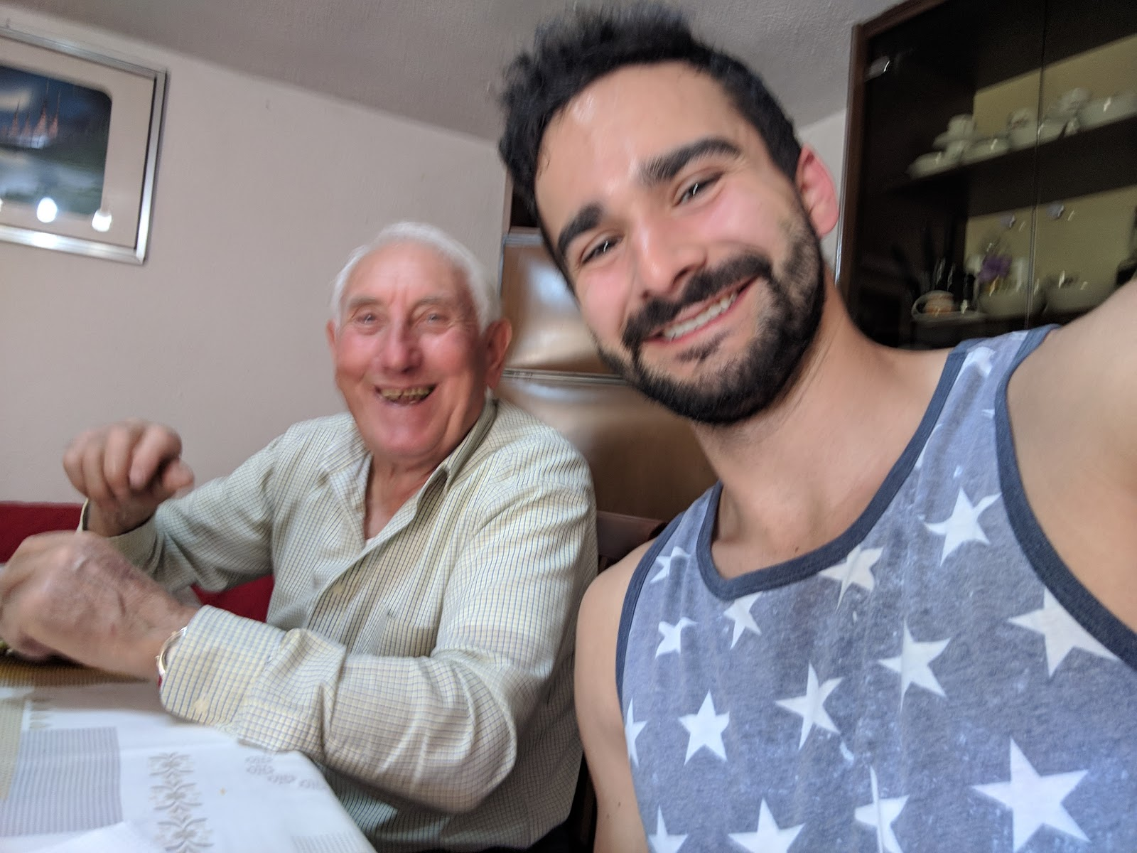 My Italian Grandparents Are Doing Great At The End Of