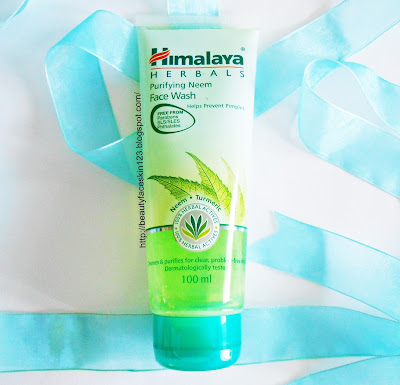 Himalaya gel cleanser