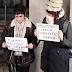 Agreden a dos jóvenes mujeres antifranquistas en la misa por el recuerdo de Franco
