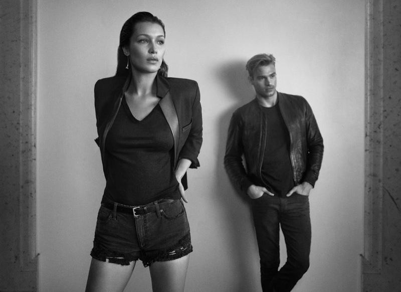 Joe's Jeans 2016 Campaign featuring Bella Hadid