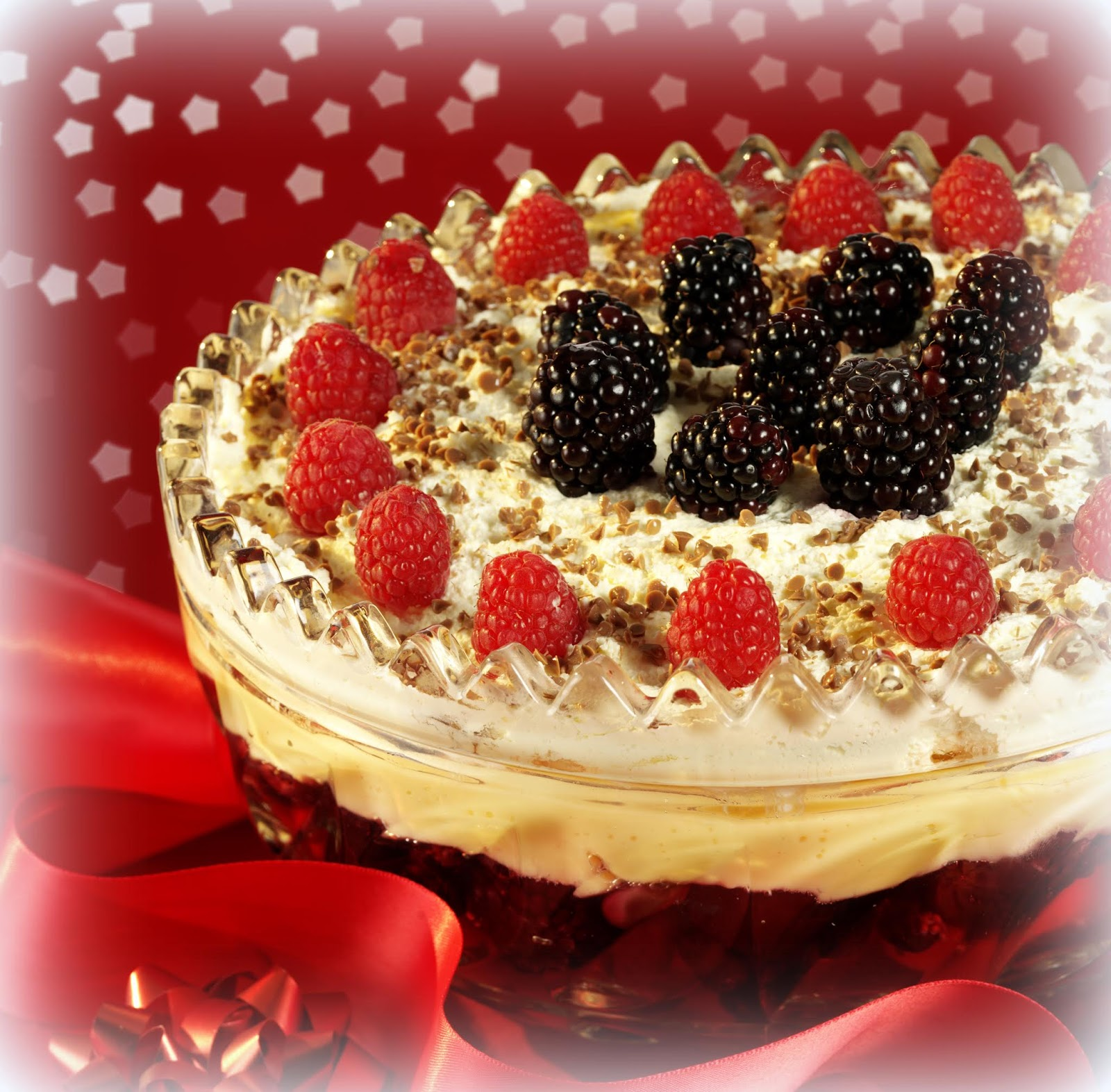 The English Kitchen A Traditional English Trifle