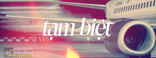 Ảnh bìa facebook đẹp độc đáo - Cover FB timeline enique, máy bay tạm biệt