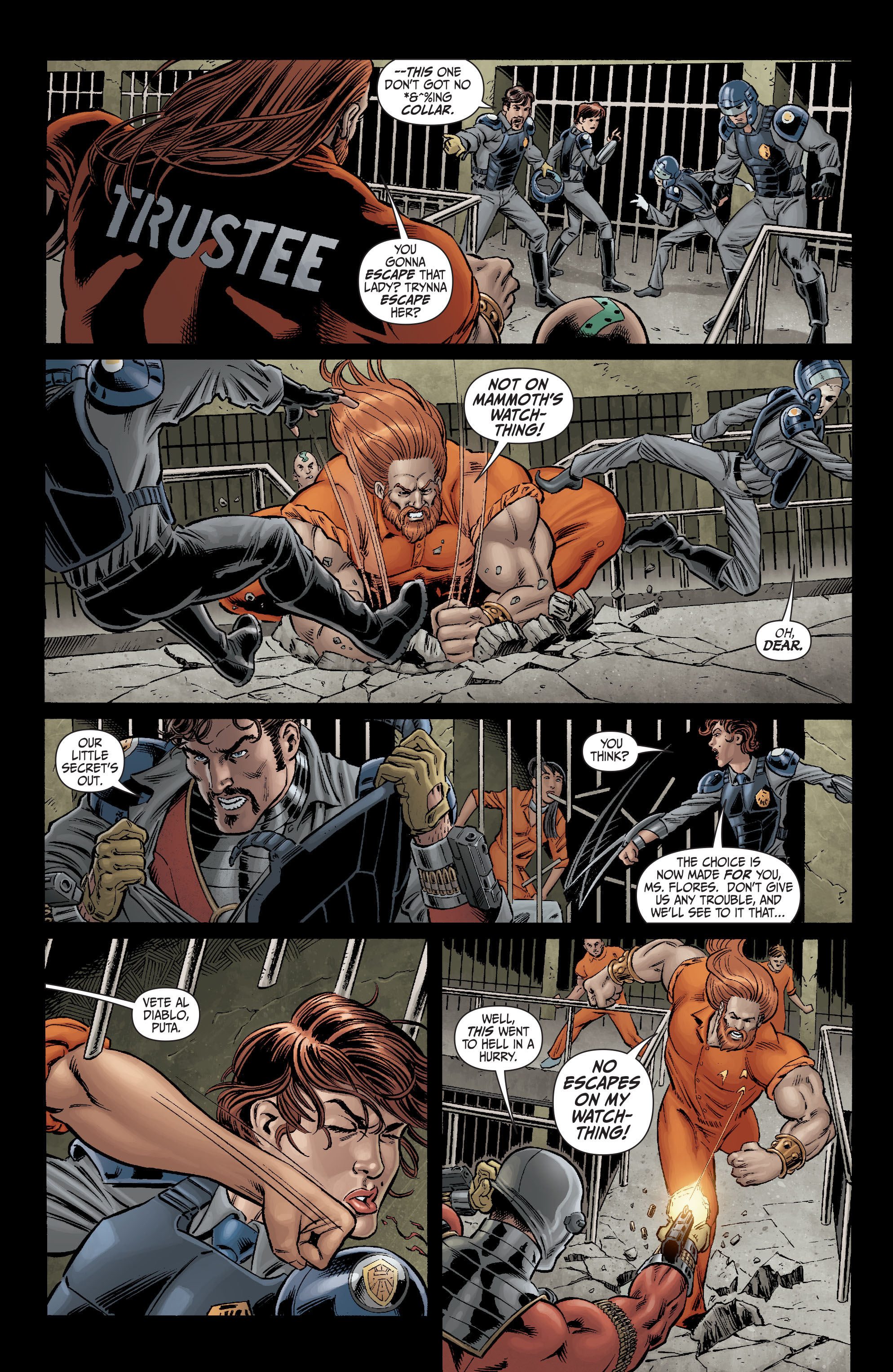 Read online Secret Six (2008) comic -  Issue #2 - 16