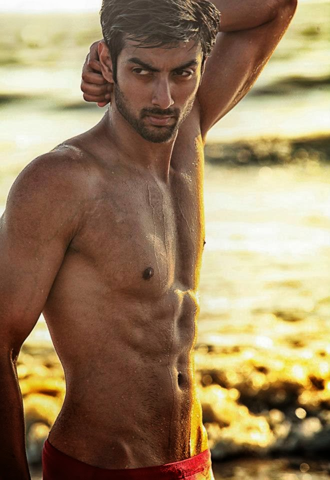 indian naked male model