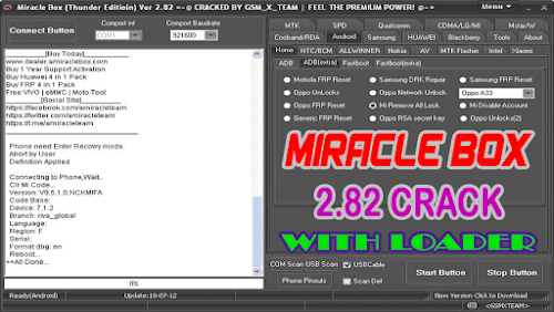 Miracle Box 2.82 Crack With Loader (Free and Working)