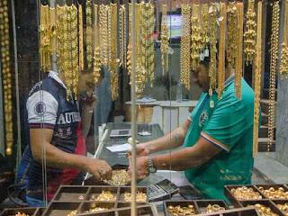 أسعار الذهب تتراجع في مصر، سعر جرام الذهب عيار 21 يسجل 694 جنيها، والجنيه الذهب سعر 4860 جنيها للجرام