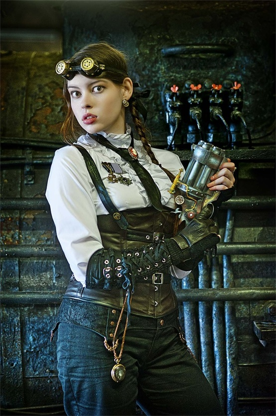 Devilinspired Steampunk Dresses How To Find Gears For