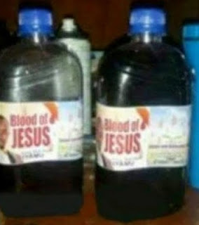 End Time Looms As Blood Of Jesus Now For Sale In Bottles, See Photos