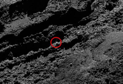 Comet 67P strange anomalies and UFO.