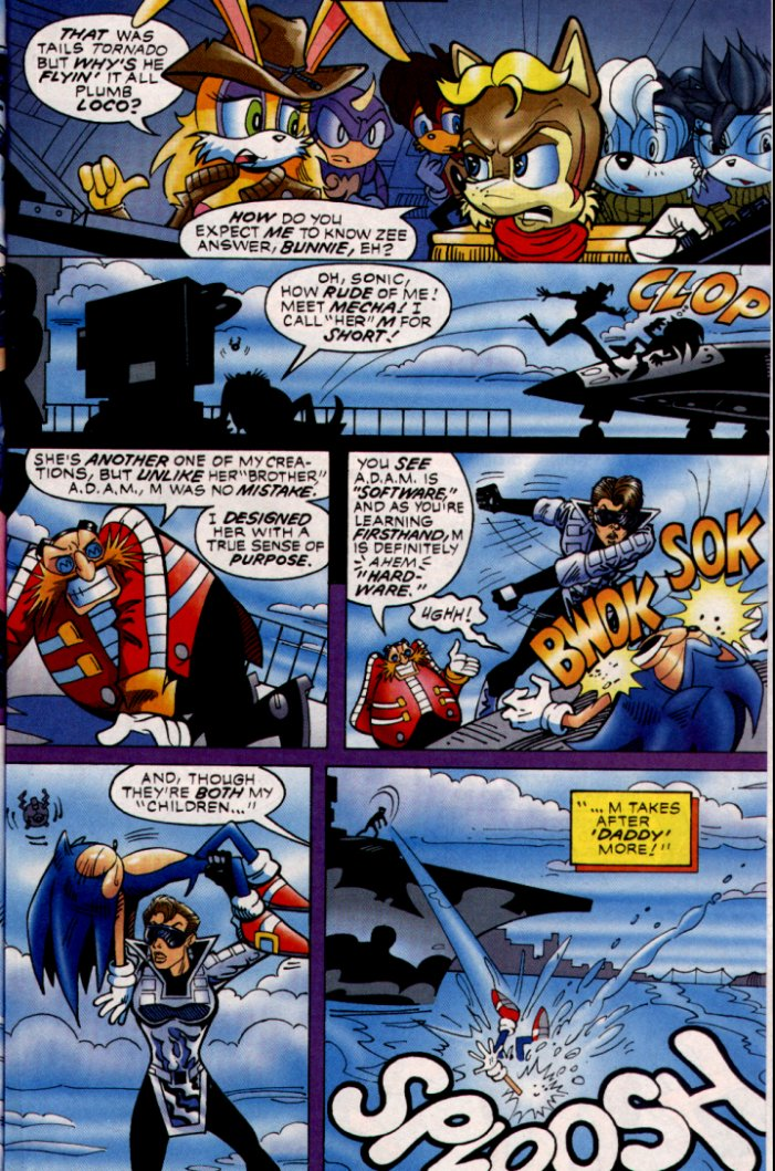 Read online Sonic The Hedgehog comic -  Issue #132 - 13