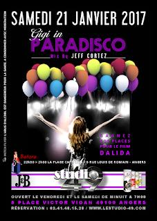 soirée disco à Angers