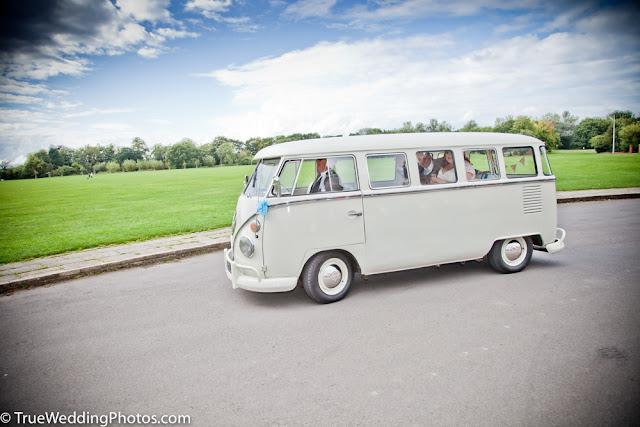 VW classic camper van