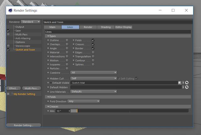 texturing dan rendering di cinema 4d
