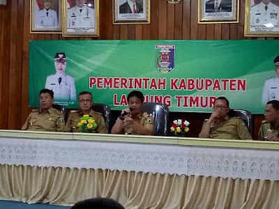 Sekdakab Lampung Timur Kritisi Intensitas Perjalanan Dinas Yang Tidak Begitu Penting