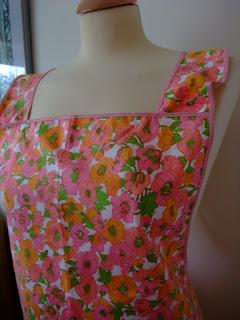 vintage apron by karen vallerius