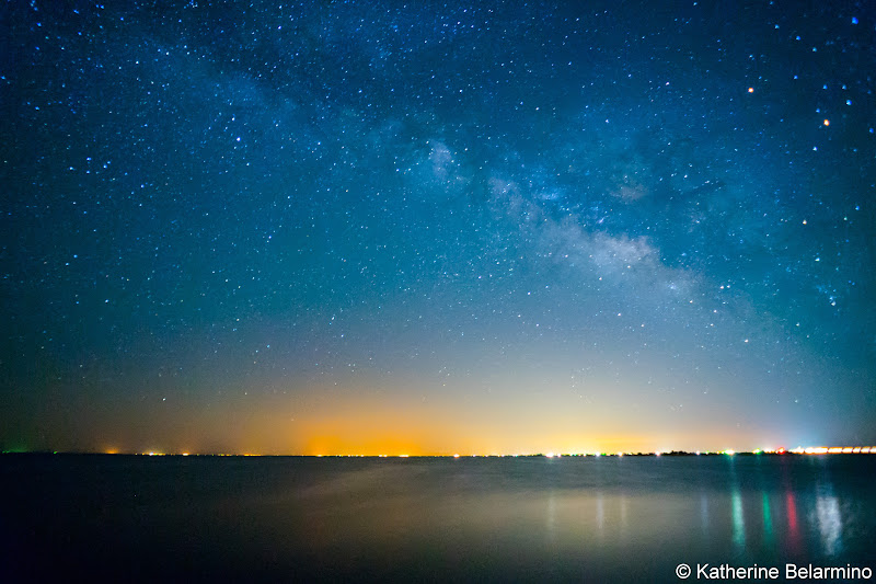 Milky Way Salton Sea Ghost Towns Photography