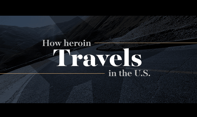 How Heroin Travels in the U.S.