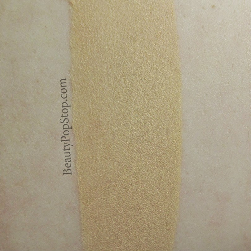 gorgeous cosmetics sheer brilliance liquid foundation in 1n-sb swatch