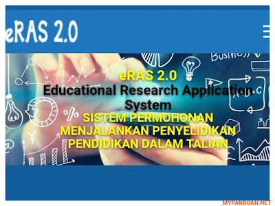 Cara Login Sistem eRAS 2.0