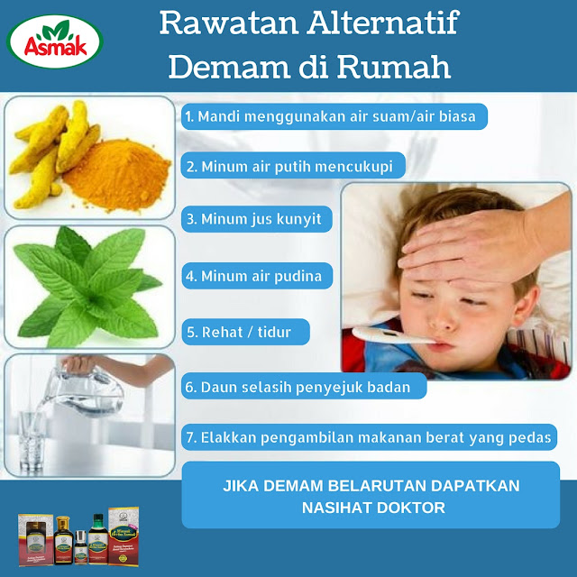 Tips rawat demam