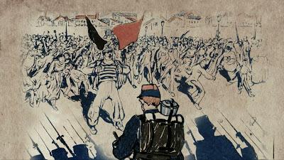 """Cena do documentário """"História do Anarquismo"""" - Divulgação"""