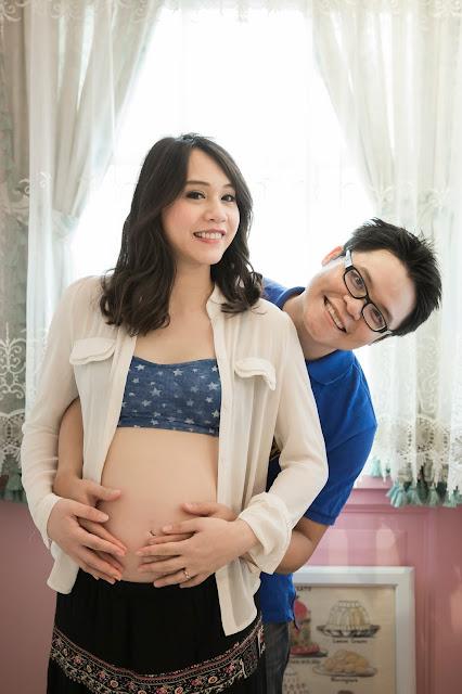 孕婦寫真, 孕媽咪, 孕媽咪寫真, 嘉嘉, 和服孕婦