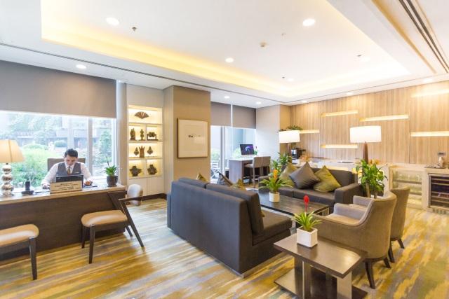 Executive Lounge at Ascott Makati