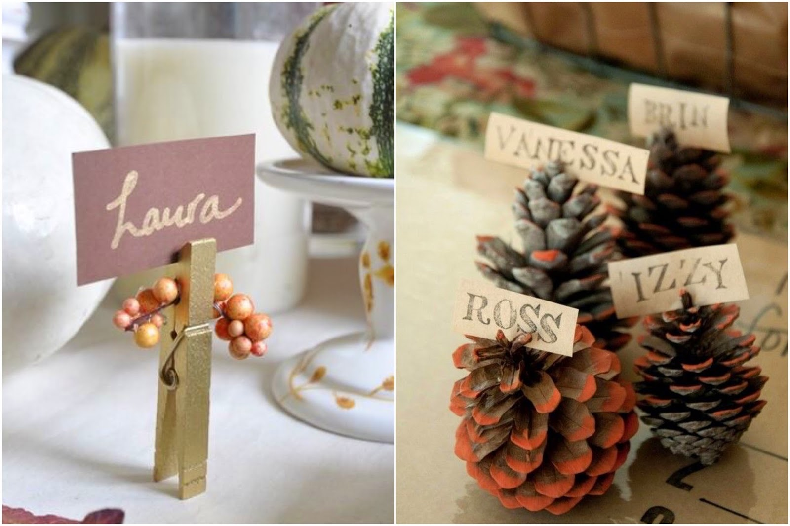 Lisa loves john six easy thanksgiving table settings ideas Cheap thanksgiving table setting ideas