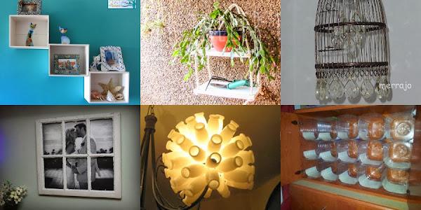 Decorar reciclando ser ecol gico es - Como decorar reciclando ...