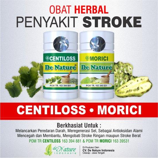 Obat Stroke Ringan - Berat Herbal de Nature Bagus