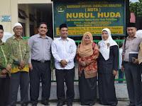 Kasi PD Pontren Monitoring Ujian Semester Ganjil MDTA Nurul Huda Pekanbaru