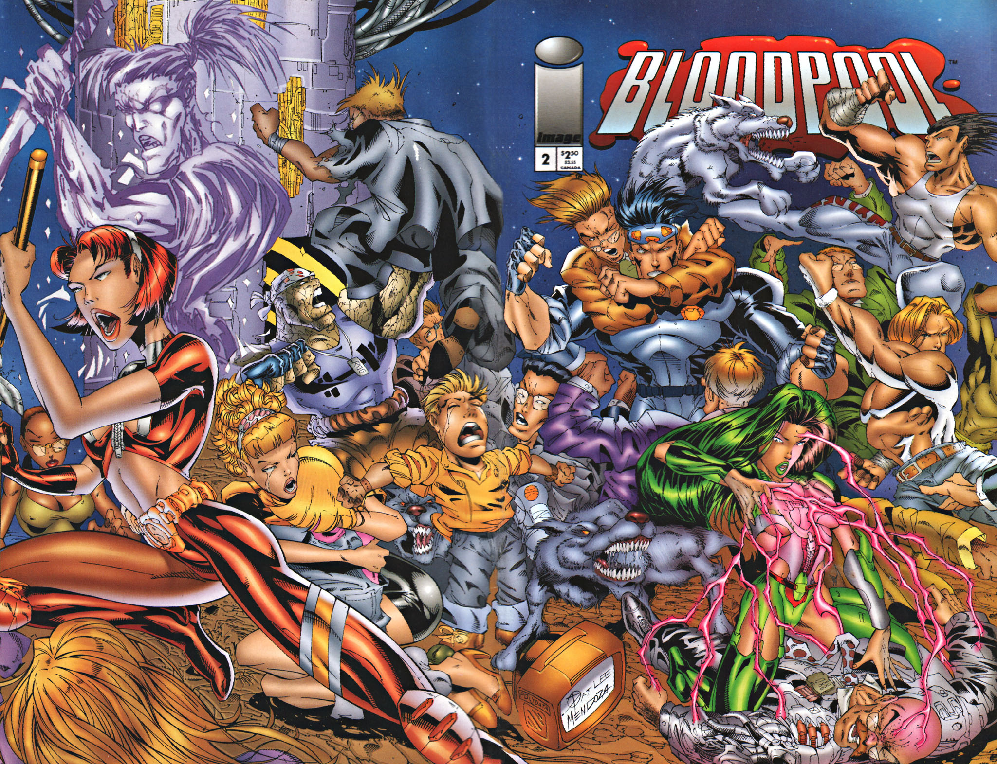 Bloodpool 2 Page 1
