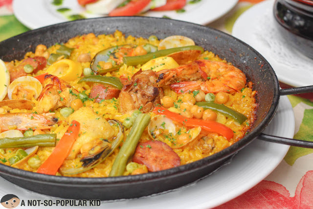 Paella Valenciana of Lorenzo's Way
