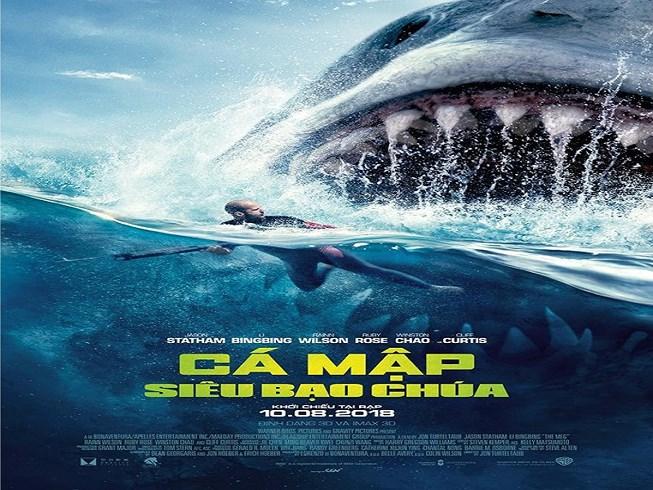 Phim cá mập siêu bạo chúa full HD