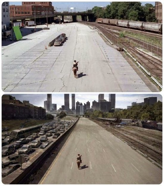 Walking Dead efeitos especiais