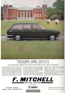 F Mitchell colour advert