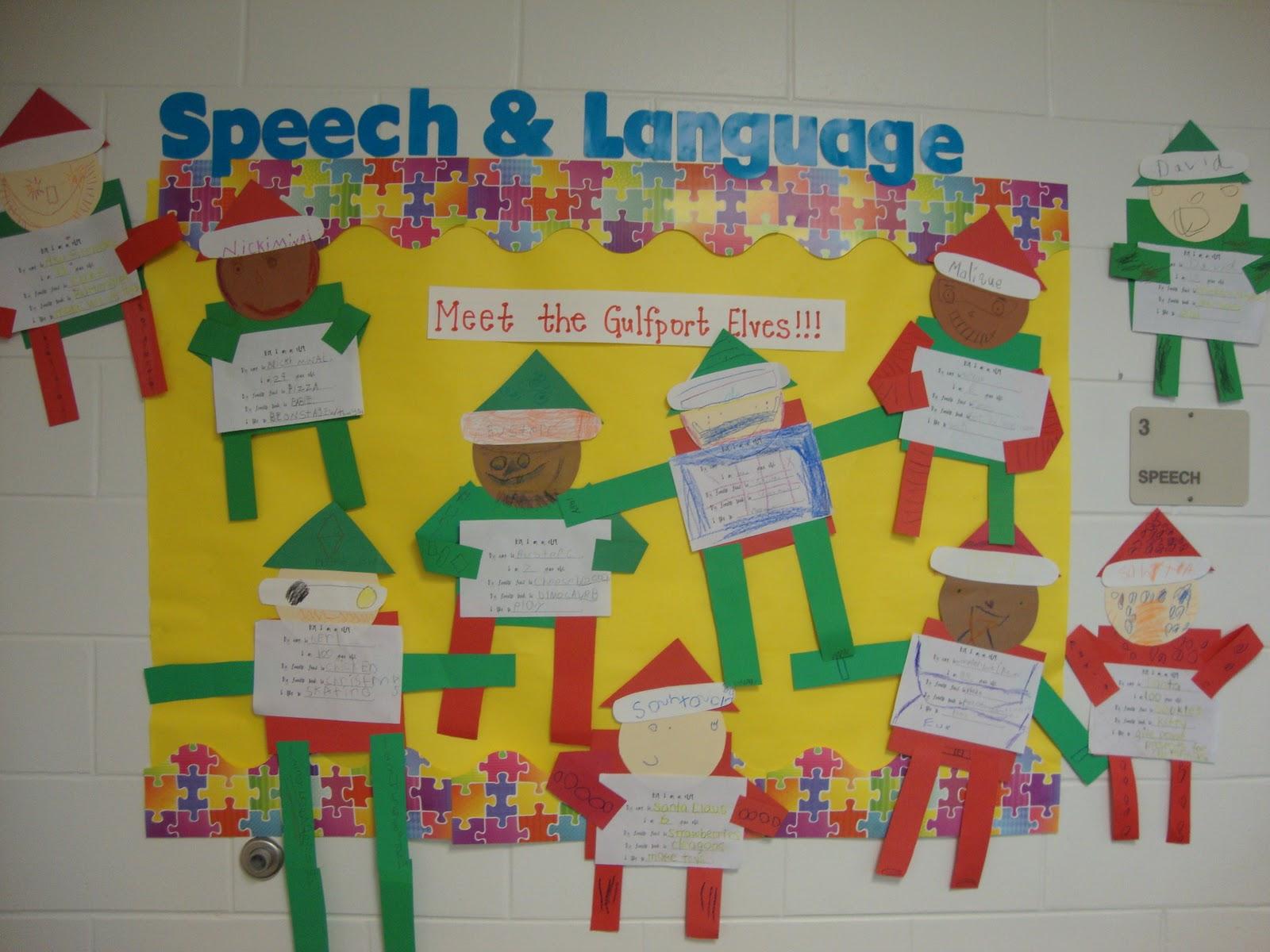 Meet The Elves Of Gulfport Elementary Simply Speech