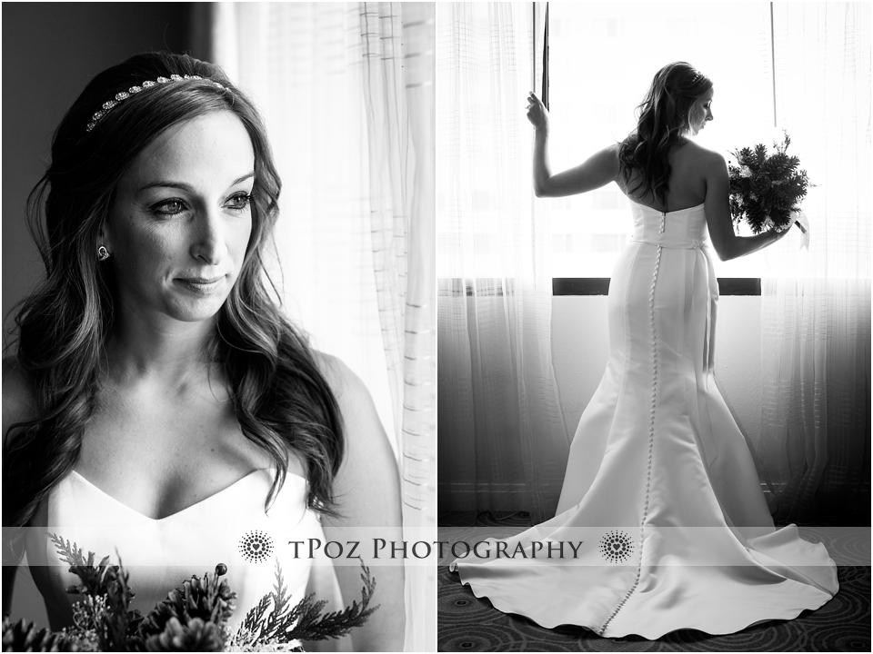 Baltimore Marriott Wedding Bride