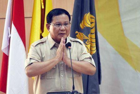 Prabowo: Saya Elite Sadar, Sudah Tobat dan Setia