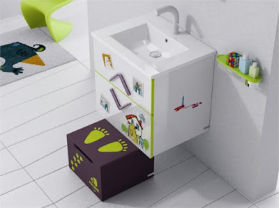 How to decorate kids bathroom design with simple ideas
