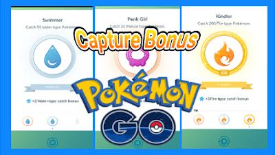 Fitur Terbaru Bonus Menangkap Pokemon di Pokemon Go