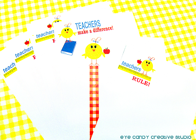 stationery paper, teacher stationery pad, teachers rule, how to make a stationery box