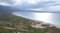 Albanian coastline, beach