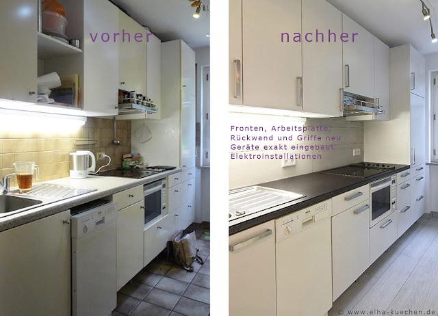 wir renovieren ihre k che k chenrenovierung vorher nachher bilder. Black Bedroom Furniture Sets. Home Design Ideas