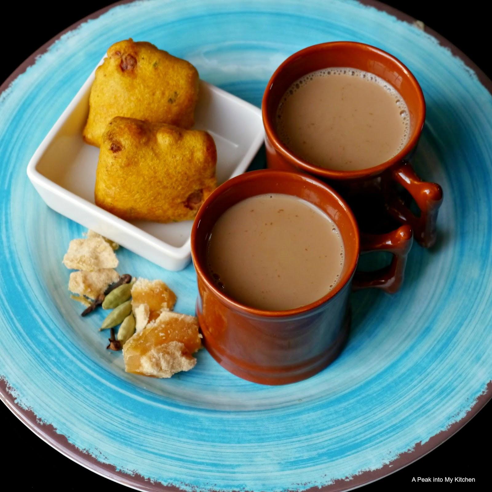 A Peek Into My Kitchen: Jaggery Masala Chai / Tea