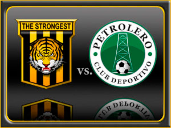 En vivo The Strongest vs. Petrolero
