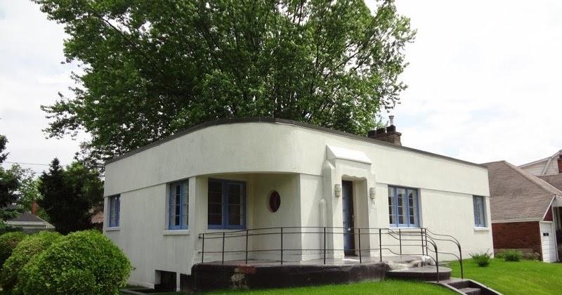 Fresh Brick Hambly House Circa 1939